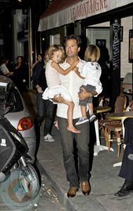 David Charvet with kids Shaya and Heaven