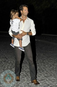David Charvet with son Shaya
