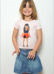 Lotty Dotty French cut T-shirts