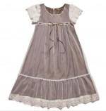 Soft Brown Wood Nymph Dress