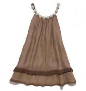 Soft Brown Sweet Pea Dress