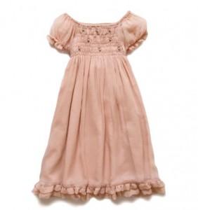 Peach Dorothy Dress