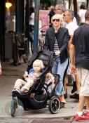 Naomi Watts with sons Sasha and Sammy
