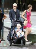 Naomi Watts with sons Sasha and Sammy