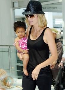 Heidi Klum and daughter Lou
