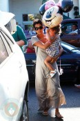 Halle Berry and Nahla Aubry At Bristol Farms