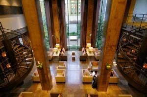 Lobby of the Proximity Hotel