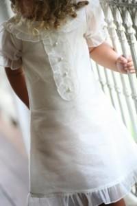 Little Miss j Tea Party Organza Dress