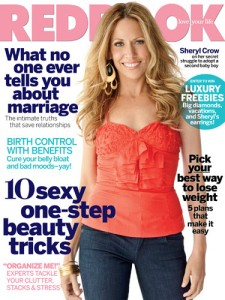 Sheryl Crow Redbook Cover