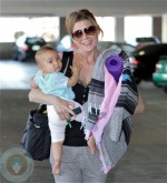 Ellen Pompeo and Stella Luna