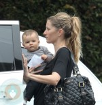 Gisele Bundchen and son Benjamin Brady