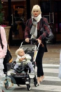 Gwen Stefani and son Kingston