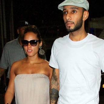 Alicia Keys And Swizz Beatz Attend Rock The Bells