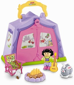 RECALL: 110,000 Fisher-Price Little People Play 'n Go Campsites™ Due to Choking Hazard