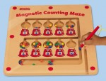 Magnetic Counting Maze