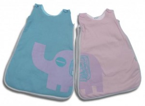 Pink and blue - Sleeping Elephant