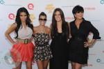 Kim, Kourtney and Khloe Kardashian with mom Kris Jenner