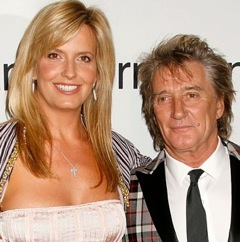 Rod Stewart and Penny Lancaster Expecting Baby #2!