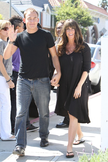 "Alanis and husband Mario ""Souleye"" Treadway"