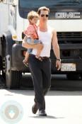 Matthew McConaughey with son Levi