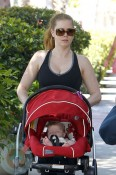 Amy Adams with daughter Aviana Olea Le Gallo