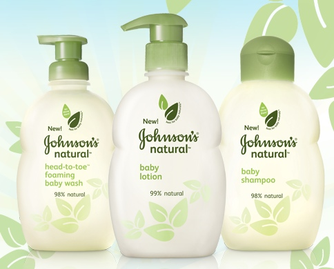 Johnson's Brand Natural Collection