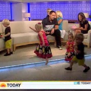 Masche Sextuplets Invade The Today's Show!