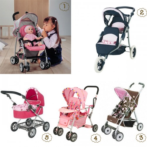 Just Like Mom! 10 Fashionable Doll Strollers For Your Little One ...