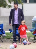 Ben Affleck with daughter Violet