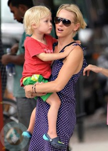 Naomi Watts and son Alexander 'Sacha'