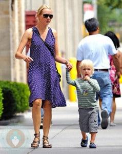 Naomi Watts and son Alexander 'Sacha'