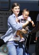Idina Menzel with son Walker