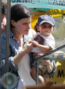 Idina Menzel with son Walker