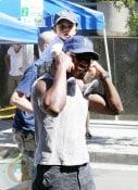 Taye Diggs and son Walker