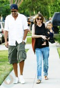 Ellen Pompeo and husband Chris Ivery with daughter Stella Luna