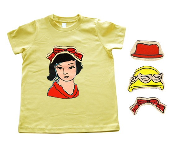 Creative Director Clothing ~ Interactive kid's clothing makes dressing fun!