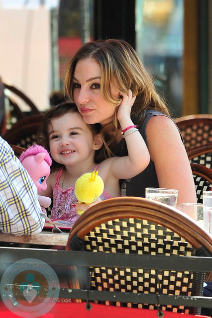 Drea de Matteo and daughter, Alabama Gypsy Rose