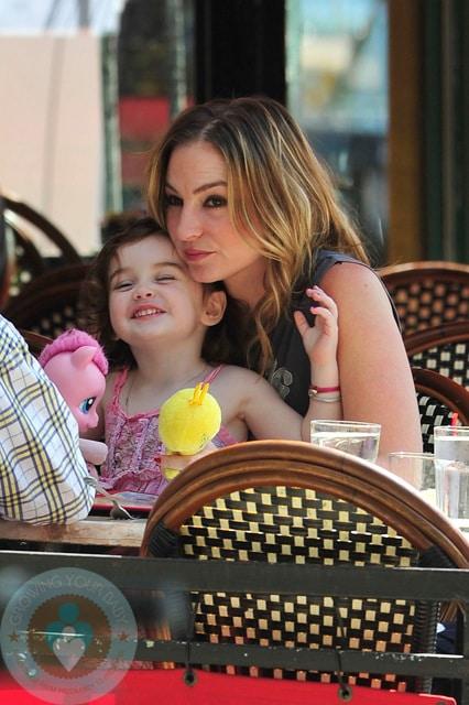 Drea de Matteo and daughter, Alabama Gypsy Rose