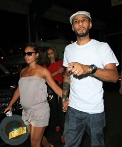 Alicia Keys And Swizz Beatz