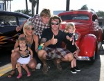 Tori Spelling and Dean McDermott with Liam, Stella and Dean's son Jack