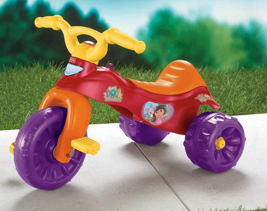 K6672 Dora The Explorer Tough Trike Growing Your Baby