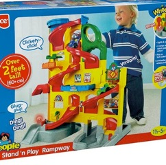 RECALL: 120,000 Fisher-Price Little People Wheelies Stand 'n Play Rampway Due to Choking Hazard