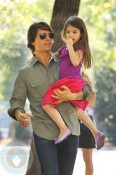 Tom Cruise with daughter Suri