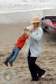 Jenna Elfman and son Story