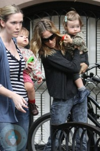 Sarah Jessica Parker with her daughter Tabitha