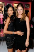 Doutzen Kroes and Chanel Iman