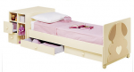 Cot that converts from the baby's version to a junior bed.