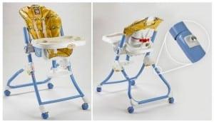 Easy Clean High Chair  Model Numbers: H9178, J4011, J6292, J8229