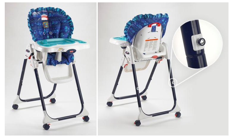 RECALL 1 Million FisherPrice Healthy Care Easy Clean and Close – Fisher Price Easy Fold High Chair Recall