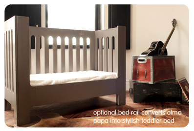 alma papa toddler bed
